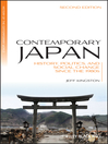 Contemporary Japan (eBook): History, Politics, and Social Change since the 1980s