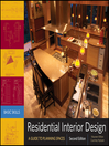 Residential Interior Design (eBook): A Guide To Planning Spaces