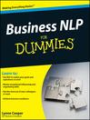 Business NLP For Dummies (eBook)
