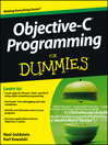 Objective-C Programming For Dummies (eBook)