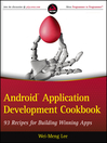 Android Application Development Cookbook (eBook): 93 Recipes for Building Winning Apps