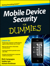 Mobile Device Security For Dummies (eBook)