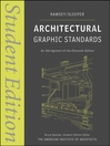 Architectural Graphic Standards (eBook): Student Edition