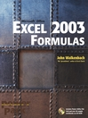 Excel 2003 Formulas (eBook)