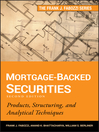 Mortgage-Backed Securities (eBook): Products, Structuring, and Analytical Techniques