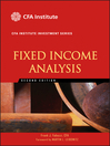 Fixed Income Analysis (eBook)