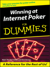Winning at Internet Poker For Dummies (eBook)