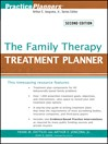 The Family Therapy Treatment Planner (eBook)