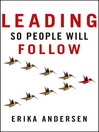 Leading So People Will Follow (eBook)