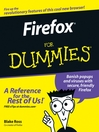 Firefox For Dummies (eBook)