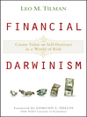 Financial Darwinism (eBook): Create Value or Self-Destruct in a World of Risk