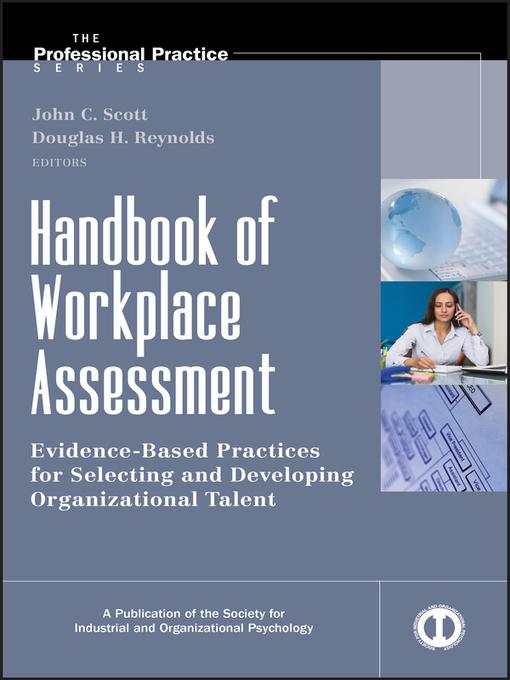 Handbook of Workplace Assessment (eBook)