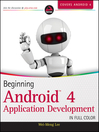 Beginning Android 4 Application Development (eBook)