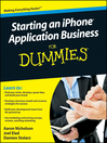 Starting an iPhone Application Business For Dummies (eBook)