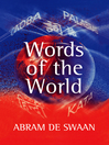 Words of the World (eBook): The Global Language System