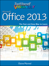 Teach Yourself VISUALLY Office 2013 (eBook)