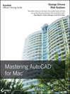 Mastering AutoCAD for Mac (eBook)