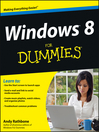 Windows 8 For Dummies (eBook)