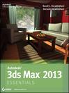 Autodesk 3ds Max 2013 Essentials (eBook)