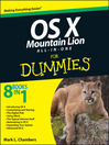 OS X Mountain Lion All-in-One For Dummies (eBook)