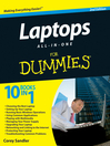 Laptops All-in-One For Dummies (eBook)