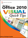 Office 2010 Visual Quick Tips (eBook)