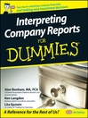 Interpreting Company Reports For Dummies (eBook)