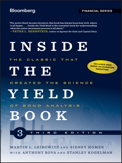 Inside the Yield Book (eBook): The Classic That Created the Science of Bond Analysis
