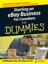 Starting an eBay Business For Canadians For Dummies (eBook)