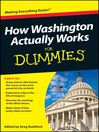 How Washington Actually Works For Dummies (eBook)