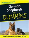 German Shepherds For Dummies (eBook)