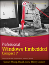 Professional Windows Embedded Compact 7 (eBook)
