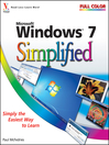 Windows 7 Simplified (eBook)
