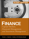 Finance (eBook): Capital Markets, Financial Management, and Investment Management