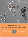 Analysis of Biological Networks (eBook)