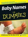 Baby Names For Dummies (eBook)