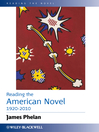 Reading the American Novel 1920-2010 (eBook)