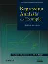 Regression Analysis by Example (eBook)