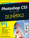 Photoshop CS5 All-in-One For Dummies (eBook)