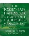 The Jossey-Bass Handbook of Nonprofit Leadership and Management (eBook)