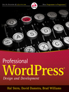 Professional WordPress (eBook): Design and Development