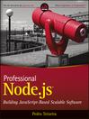 Professional Node.js (eBook): Building Javascript Based Scalable Software