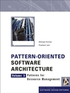 Pattern-Oriented Software Architecture, Patterns for Resource Management (eBook)