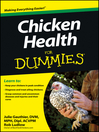 Chicken Health For Dummies (eBook)