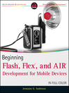Beginning Flash, Flex, and AIR Development for Mobile Devices (eBook)