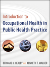 Introduction to Occupational Health in Public Health Practice (eBook)