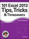 101 Excel 2013 Tips, Tricks and Timesavers (eBook)