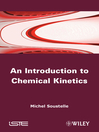 An Introduction to Chemical Kinetics (eBook)