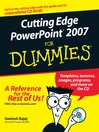 Cutting Edge PowerPoint 2007 For Dummies (eBook)