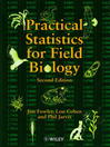 Practical Statistics for Field Biology (eBook)